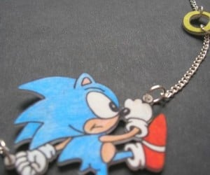 Fun Sonic the Hedgehog Necklace Rules