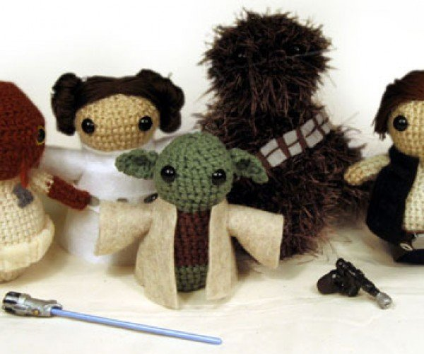 Star Wars Amigurumi: the Jedi Get Stuffed
