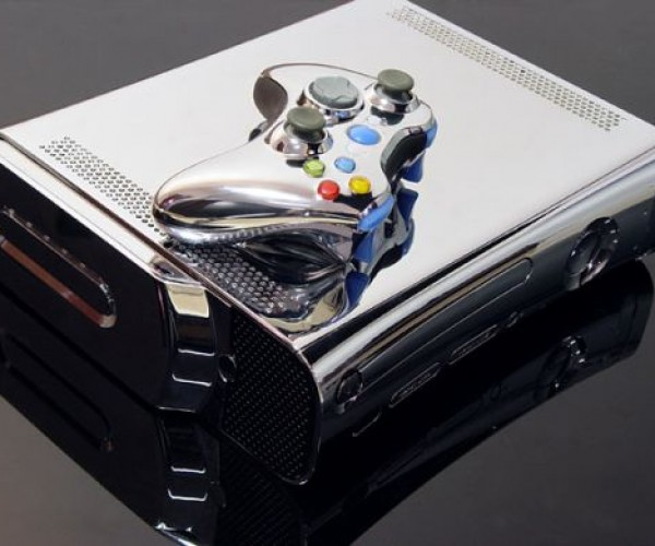Xbox 360 Chrome Case Adds Hdmi