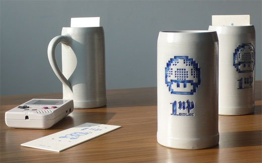 Mario 1-Up Beer Mugs