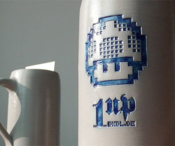 1up Beer Mugs Bring Extra Lives, Extra Brewskis