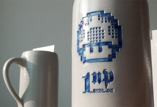 1up Beer Mugs