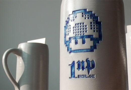 1up Beer Mugs