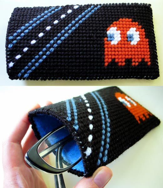 Blinky Ghost Eyeglass Case Pac-Man