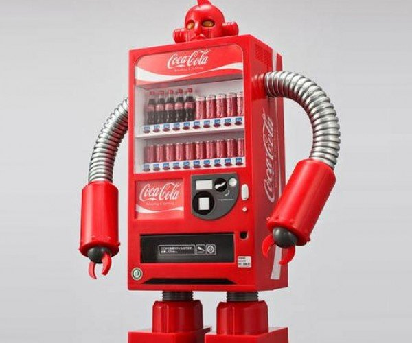 Coca-Cola Robots Invade Japan