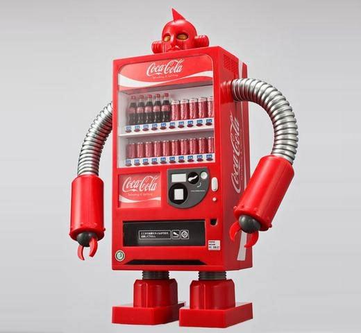 coca cola robot