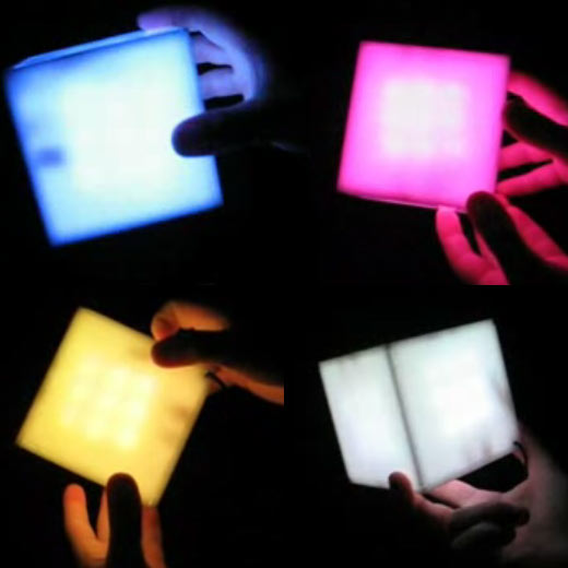 Interactive Color Cube LED by Steve Gilbertson