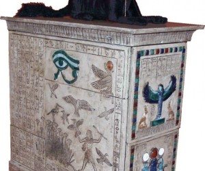 Egyptian Pc Casemod: Funky Tut'S Computer