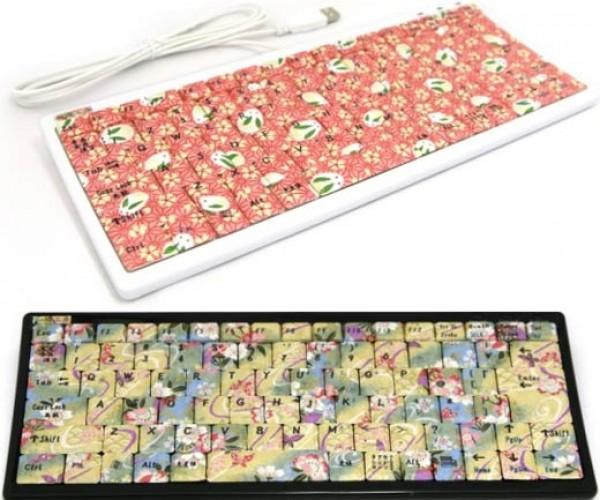 Handpainted Keyboards Offer Dazzling, Dizzying Designs