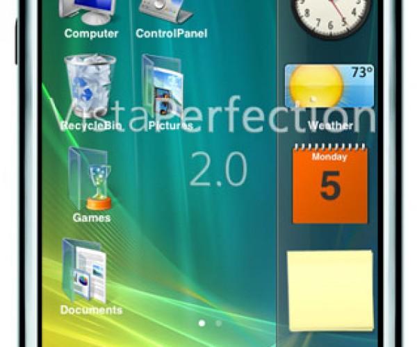 IPhone Runs Windows Vista (Kinda Sorta).