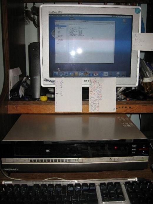 iVHS iMac Casemod