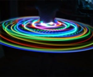 LED Hula Hoops: You Know, for Kids.