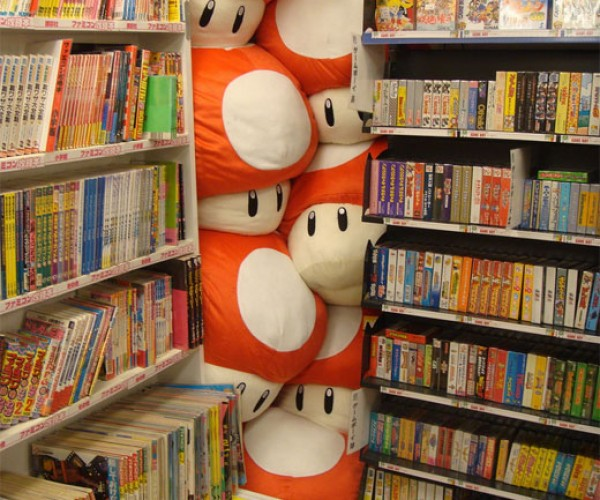 Photo Du Jour: Hidden Mario Mushrooms