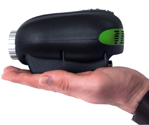 A micro projector for cheapskates technabob for Smallest micro projector