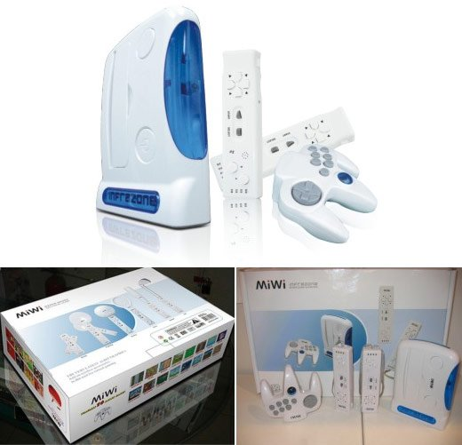 miwi wii knock off
