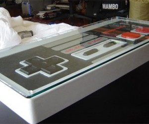 NES Controller Coffee Table: Drool.