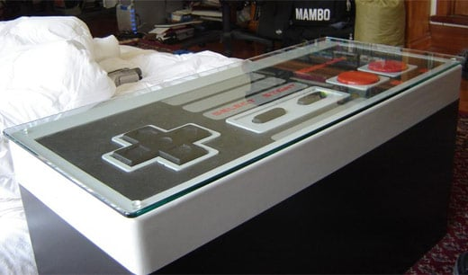 nes coffee table