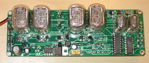 nixie clock inside