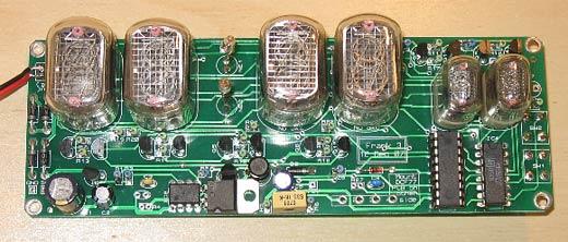 Nixie Clock Kit Circuit