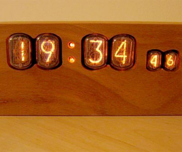 Wooden Nixie Clock: Where Nature Meets Technology