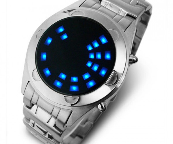 Tokyoflash Oberon Ss LED Watch Gets the Blues