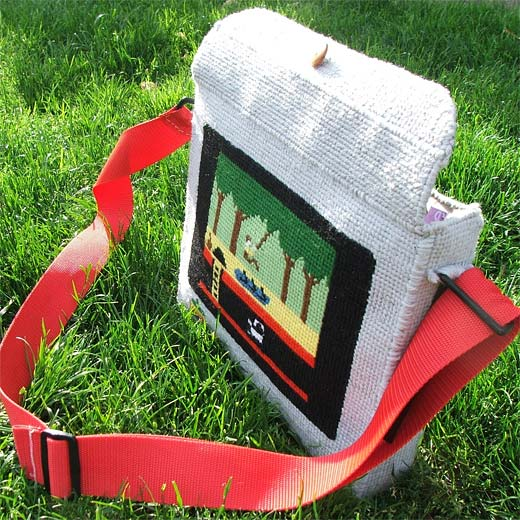 Pitfall Laptop Bag by NovellaMarie