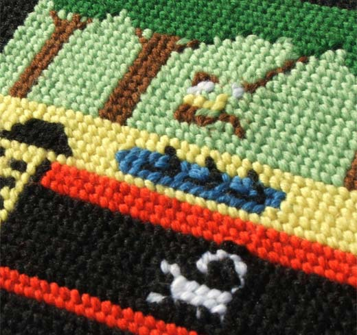 Pitfall Needlepoint