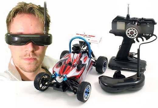 VTS R/C Car with Remote HMD