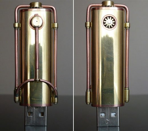 steampunk flash memory
