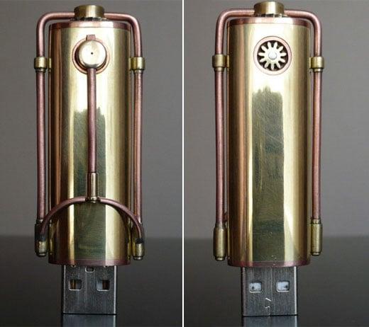 Steampunk USB Memory
