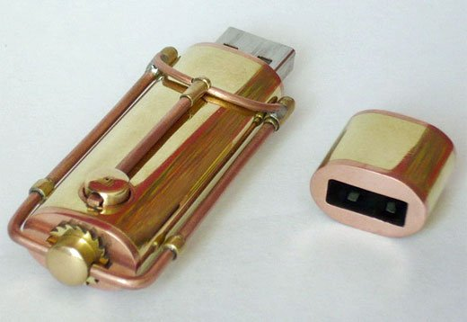 Steampunk USB Memory Stick