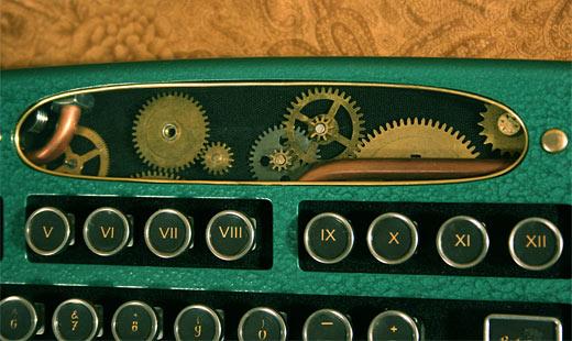 Steamputer Keyboard Gears