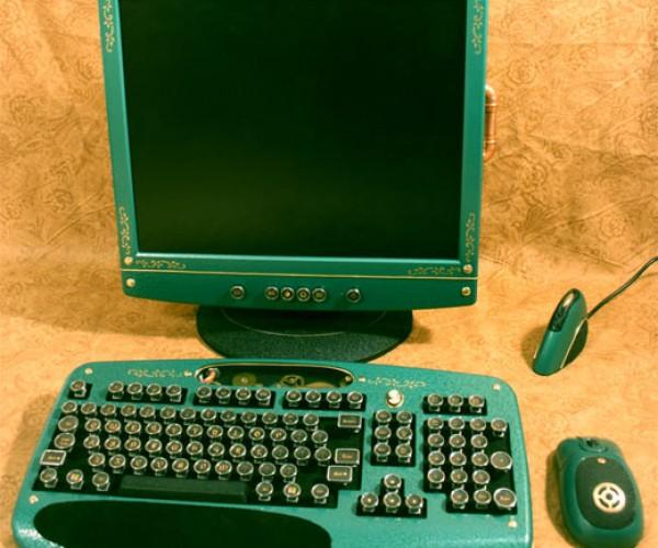 Steampunk Computer Accessories Hit Ebay