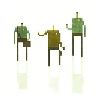 Superbrothers Pixel Art Star Trek