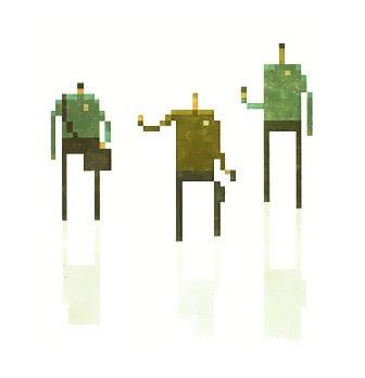 Superbrothers Pixel Art Star Trek