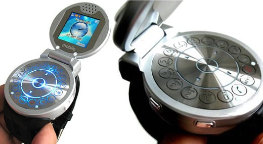 U201 Flip-top Mobile Phone Watch