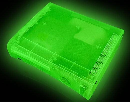 Xbox 360 Glow Case from XCM