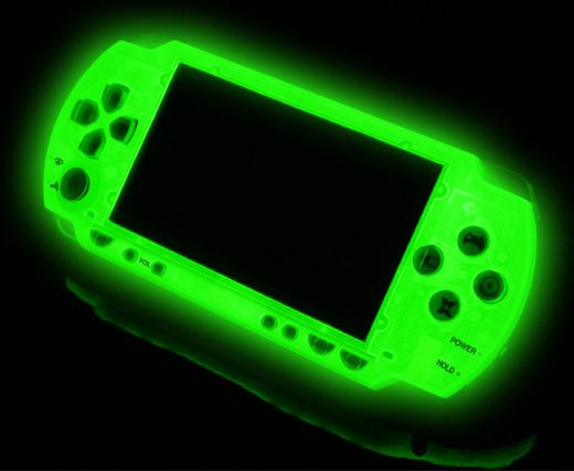 XCM Magic Night Glow PSP Face Plate