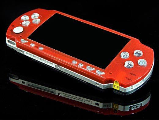 XCM PSP Glow Face Red