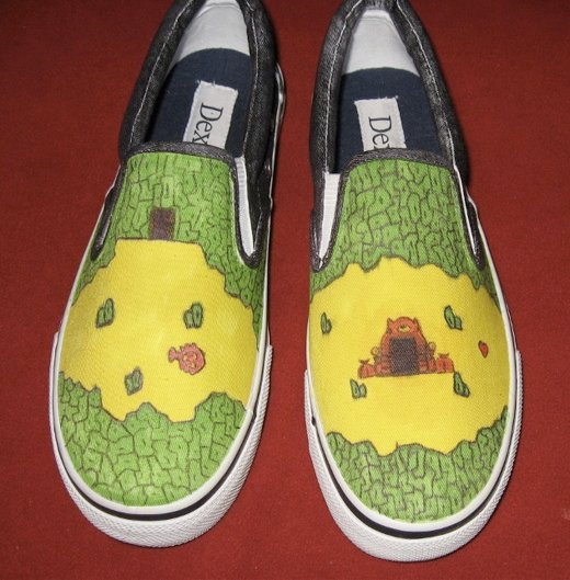 Zelda Shoes front view