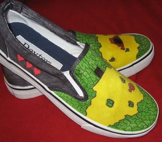 Zelda Shoes side view