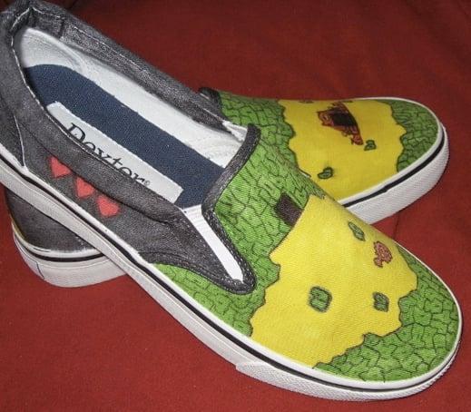 Zelda Shoes side view