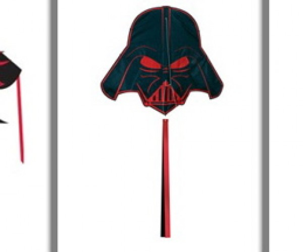 Breathe Heavy on the Beach With Darth Vader Kites