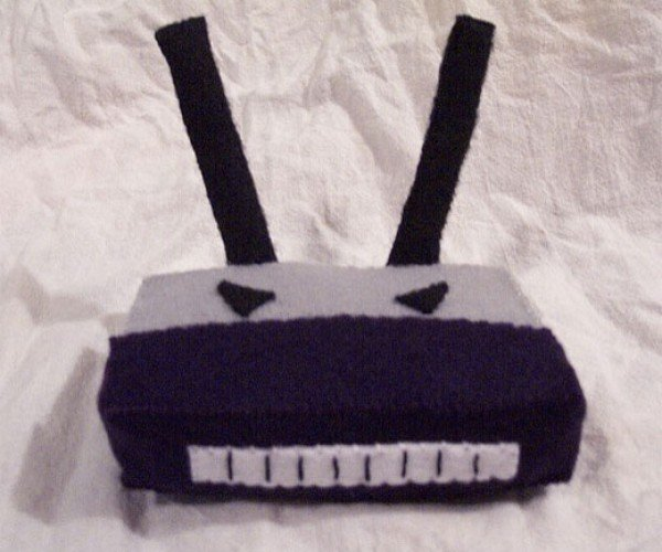 [Evil] Plush Wireless Router Wants Your Connection to Fail