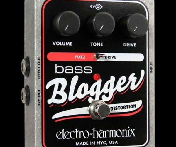 Bass Blogger Guitar Pedal Spawns Guitaroblogosphere