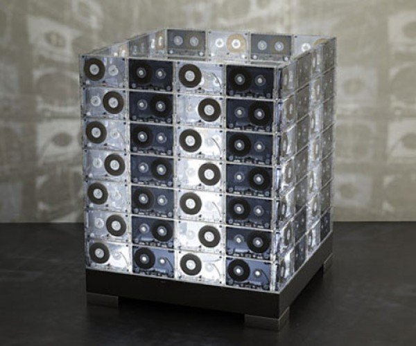Cassette Tape Lamps Look Great, Sound Awful