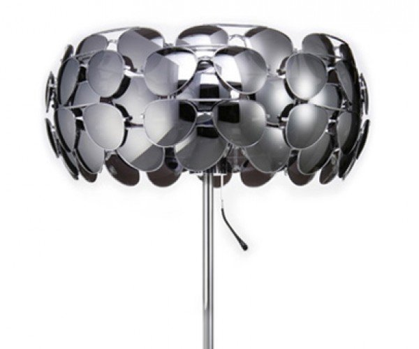 Celebrity Lamp is Made From 40 Pairs of Sunglasses