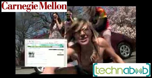 CMU Girls Technabob Vid Clip