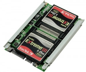 Build an Ssd Raid Array Using Compact Flash Memory Cards