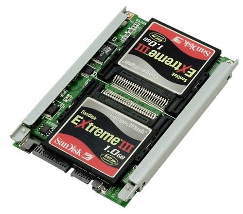 Compact Flash RAID SSD